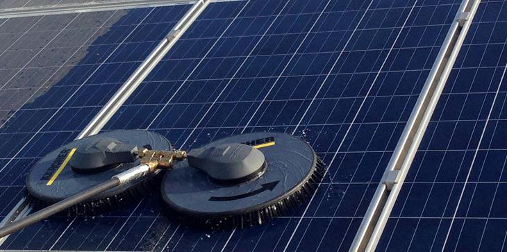 Full services in the maintenance of photovoltaic parks.