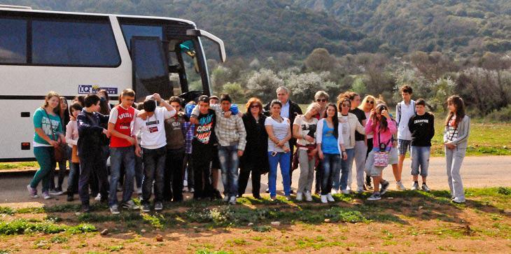 Επίσκεψη μαθητών σε πρότυπο αγρόκτημα παραγωγού μας.Έφυγαν με τις καλύτερες εντυπώσεις