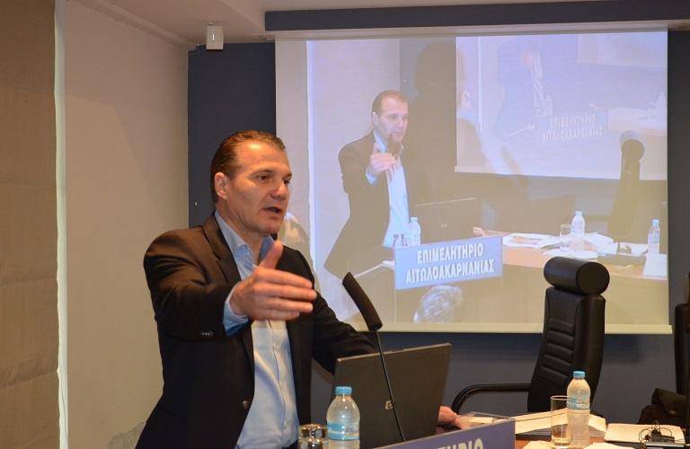 Θ. Κουτσουπιάς: Πρώτα η ελιά Σύσκεψη με τον γενικό γραμματέα του υπουργείου και επιστημονική ημερίδα για την ελαιοκομία.