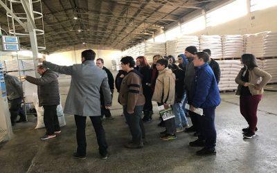 Εκπαίδευση μαθητών στο Εργοστάσιο Ζωοτροφών