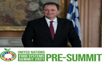 Ο Σπήλιος Λιβανός σε Συνδιάσκεψη του ΟΗΕ για τα τρόφιμα